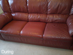 Leather Cleaning - Ayrshire & Glasgow